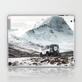 on the road in iceland Laptop & iPad Skin