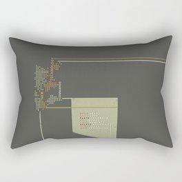 New Technology Commands Rectangular Pillow