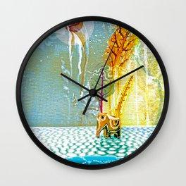 Salatarian EYELAND Lagoon Wall Clock