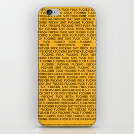 The Curses of Wall Street iPhone Skin