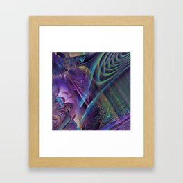 Daily Design 38 - Systems Colliding Framed Art Print