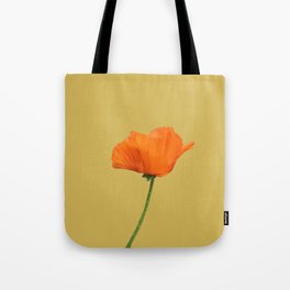 Poppy on Bamboo Tote Bag
