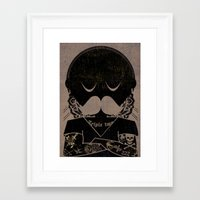 tattoos Framed Art Prints featuring Tattoos  by Ross Sinclair