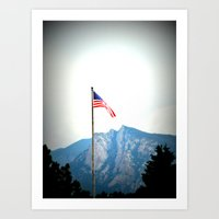 Beautiful America Art Print