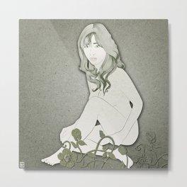 Pale Blossom Metal Print