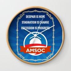 AmSoc Wall Clock