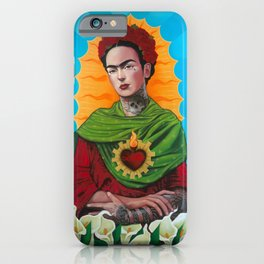 Querida Frida iPhone Case