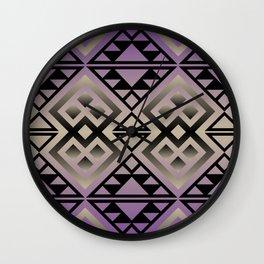 The Lodge (Purple) Wall Clock