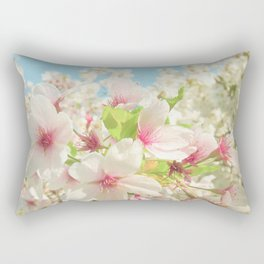 Spring Blossom Rectangular Pillow