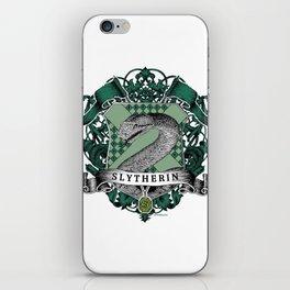 Slytherin Color Crest iPhone Skin