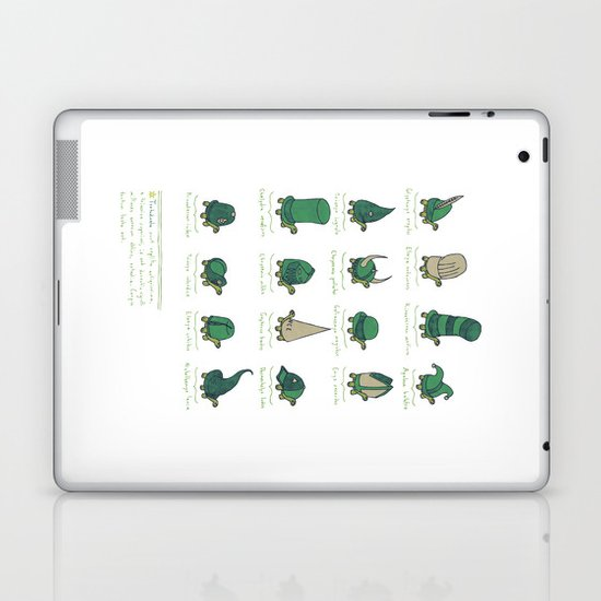A Study of Turtles Laptop & iPad Skin