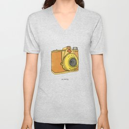 So Analog - Agfa Clack Retro Vintage Camera Unisex V-Neck