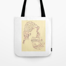 Distopian Dream Girl-Built To Spill Tote Bag