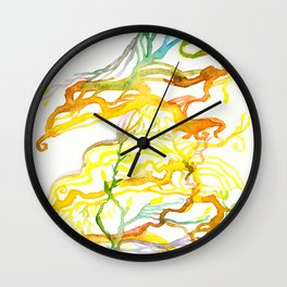 Iceland Abstracted #6 Wall Clock