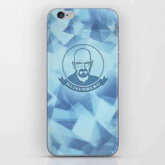 Walter White - Heisenberg - Blue Meth Edition iPhone & iPod Skin