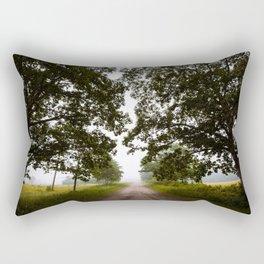 Inviting Trees Rectangular Pillow