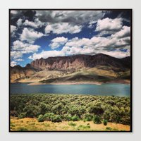 colorado Canvas Prints featuring Colorado by Caroline Sinno Photography