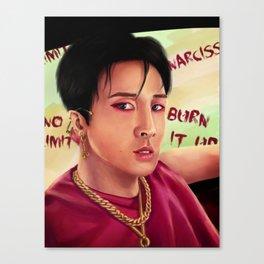 Vixx Ravi - K-pop Portrait Canvas Print