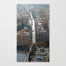 on top Canvas Print