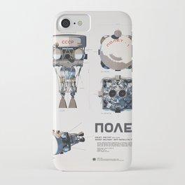 Polyot Schematics 2 iPhone Case