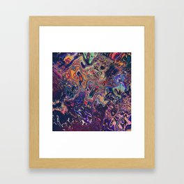 AURADESCENT Framed Art Print