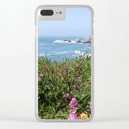 Beautiful North California Coast Clear iPhone Case