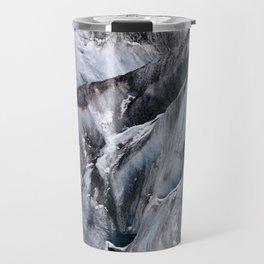Yanapaccha Glacier Abstract Travel Mug