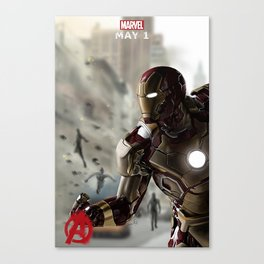 Iron Man age of ultron photoshop painting Canvas Print