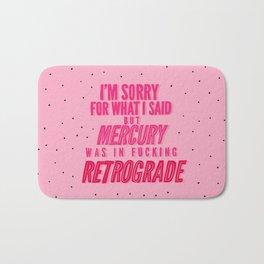 Mercury Retrograde pt. 2 Bath Mat