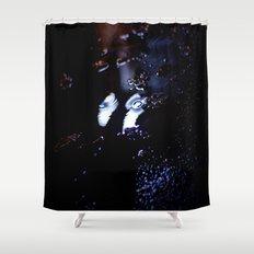 Blacklight Shower Curtain