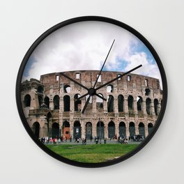 Italy Rome Colosseum Photography Art Decor Wall Art 8 x 8 / 5 x 5 Print Sets 5 SALE Wall Clock