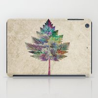 autumn iPad Cases featuring Like a Tree 2. version by Klara Acel