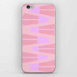 Pink and Purple iPhone Skin