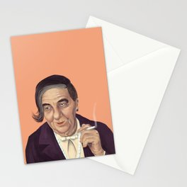 The Israeli Hipster leaders - Golda Meir Stationery Cards