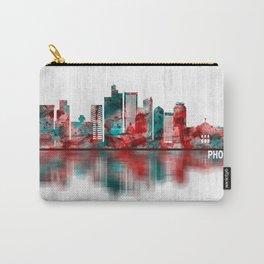 Phoenix Arizona Skyline Carry-All Pouch