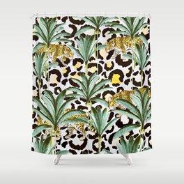 Jungle prowl Shower Curtain