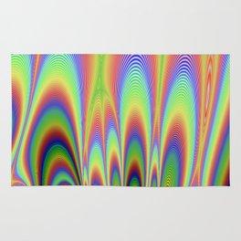 Fractal Rainbows Rug