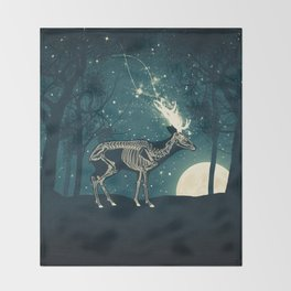 The Forest of the Lost Souls Throw Blanket