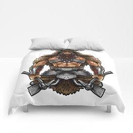 Norseman Berserker | Viking Warrior Valhalla Odin Comforters