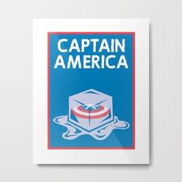 Cap'n USA Metal Print