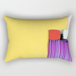 Blue Strings Rectangular Pillow