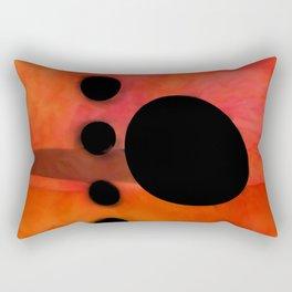 """Abstract city sunset"" Rectangular Pillow"
