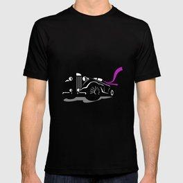 Vintage Roadster Scarf Retro T-shirt