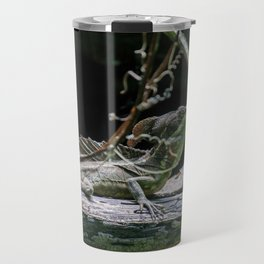 Emerald Basilisk Lizard Travel Mug