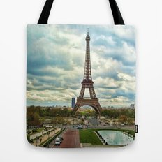 Dramatic Eiffel  Tote Bag