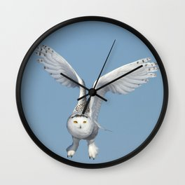 Her wings are my prayer Wall Clock