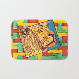 Lion In Zion #1 Bath Mat