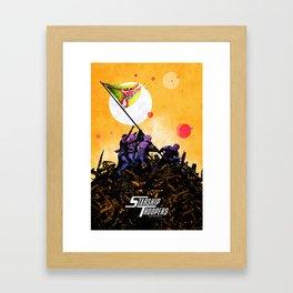 Starship Troopers Framed Art Print