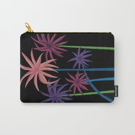 Neon Palms on Black Carry-All Pouch