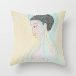 Soul Healer Throw Pillow